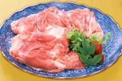 鶏肉は100%国産ムネ肉